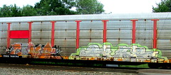 coma - afex (timetomakethepasta) Tags: coma afex freight train graffiti art autorack benching selkirk new york photography