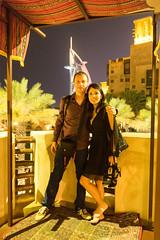 Nightlife in Dubai (tesKing (Italy)) Tags: abudhabi cristian dubai emiratiarabi io sandra uae burjalarab emiratiarabiuniti ae