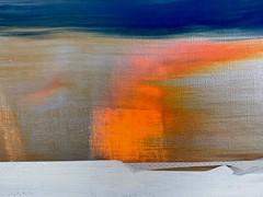 Jim Harris: Ohne Titel. Detail. (Jim Harris: Artist.) Tags: art arte lartabstrait avantgarde painting space cosmos cosmology geometric