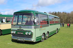 King Alfred VAL. (steve vallance coach and bus) Tags: ccg704c bedfordval plaxton kingalfred southeastbusfestival detling