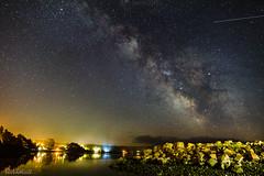 _C3N2906 (Clark Engbrecht) Tags: 2017 oregon oregoncoast astrophotography nightsky nightphotography stars starrynight costal netartsbay reflections milkyway cosmos