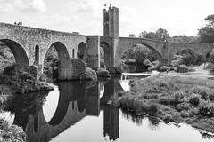Puente sobre el río Fluviá (José M. Arboleda) Tags: arquitectura blancoynegro monocromático puente torre río fluviá cataluña españa canon eos 5d markiv ef24105mmf4lisusm jose arboleda josémarboleda