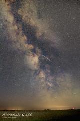 Milchstrasse mit ISS um 02:13h (piotr.kolonko@yahoo.com) Tags: sommer milchstrase sterne iss