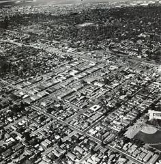 Menlo Park Aerial Photos - 3/4/1969 (menloparkplanning) Tags: menlopark california sanmateocounty aerial scannedphoto aerialphoto historicalphoto 1969 sunderlandaerialphotographs