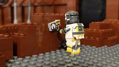 Charge Planted (Brick Tale Studios) Tags: lego star wars republic commando war brick tale studios lswstoriesanimations stop motion brickfilm clonearmycustoms custom figure zero hour delta squad mission 1
