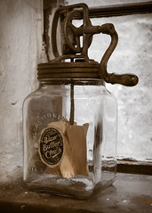 Blow Butter Churn (S.R.Murphy) Tags: july2017 wortley wortleytopforge forge industry iron machinery butter churn blowbutterchurn glass food fujifilmxt2 fujifilm1855mm flickrexplore18072017