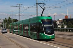 5001 (200er Serie) Tags: tram drämmli schienenfahrzeug bvb basler verkehrsbetriebe grün flexity bombardier