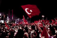 the epic of july 15. (neslinur_) Tags: country flag people turkish turkey türkiye 15temmuz istanbul bosphorus bridge july15th victory history historical