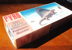 The box these games were in (petelovespurple) Tags: model kit box dimetrodon yesteryear