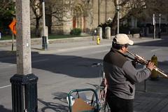 Trumpets (stevebirk_) Tags: musician toronto downtown kingst