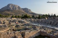 Ancient Corinth and Acrocorinth, Greece (theseustroizinian) Tags: ancientgreece architecture ancient temple architect art greece greek peloponnese hellas hellenic