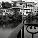 balcon sur la ville