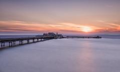 Old Faithful (Chris Sweet Photography) Tags: pier birnbeck pastel longexposure seascape coast coastal smooth somerset