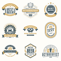 Beer Festival Octoberfest celebrations. Set of retro vintage bee (manjil280) Tags: advertisement alcohol ale announcement badge banner bar barrel beer beverage brewery celebration certificate classic design drink emblem european german glass icon illustration insignia isolated label lager logo malt mug october octoberfest oktoberfest old original party premium pretzel pub quality restaurant retro seal set sign stamp symbol text typography vector vintage