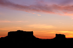 Monitor and Merrimack Buttes, Moab, UT (jameslosey) Tags: monitor merrimack butte buttes moab ut utah sunrise landscape canyonlands