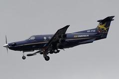 HB-FVD (LIAM J McMANUS - Manchester Airport Photostream) Tags: hbfvd bizz aircorviglia stmoritz pilatus pc12 pc1247e pilatuspc12 manchester man egcc