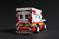 FDNY Ambulance 1218 (sponki25) Tags: ny nyc newyork newyorkcity newyorkcounty manhattan greenwichvillage fdny newyorkcityfiredepartment firetruck fireengine fdnyems ems ambulance ford fseries f450 wheeledcoach