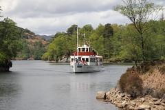 Loch Katrine (orbit9000) Tags: scotland lomond boat water lake ship outdoor