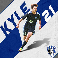 Kyle_Graphic_CAPS_17 (Sideline Creative) Tags: graphicdesign sportsgraphics digitalart sportsedits socceredits sportsart soccer capturingthemoment