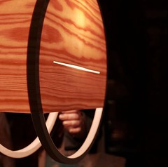 IMG_3098 (Kathi Huidobro) Tags: lightingdesign design london warmlight cdw clerkenwell naturalmaterials ambientlight innovation architecturallighting detail productphotography wood pendantlight lights lighting