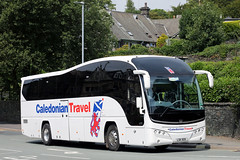 LSK 505 (Cumberland Patriot) Tags: parks of hamilton volvo b9r plaxton elite caledonian travel coach coaches lsk505