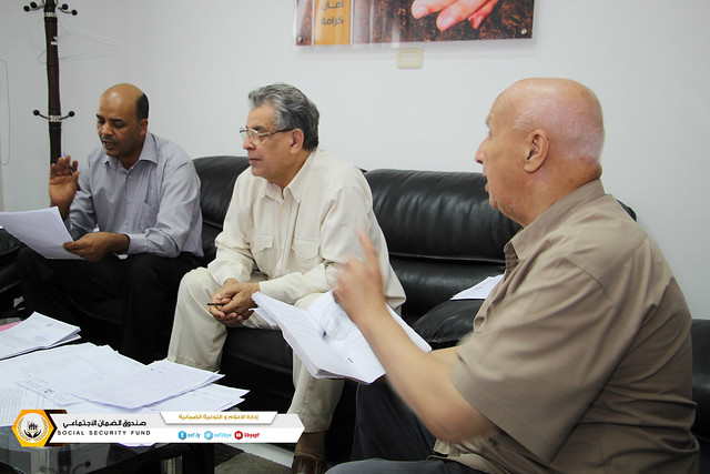 اجتماع لجنة التطبيقات الفنية