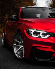 Ruby Red BMW M3. 😍  #cars #red #bmw #m3 #saturday #photography #supercars (partsavatar) Tags: cars red bmw m3 saturday photography supercars