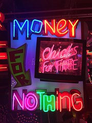 God's Own Junkyard (jericl cat) Tags: walthamstow london gods own junkyard neon sign art collection heaven money nothing