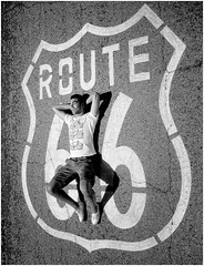 Route 66 (Steve Lundqvist) Tags: route 66 usa america street road boy lay trip travel viaggio traveling stati uniti