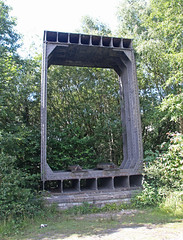 Britannia Bridge Old Tubular Section (Bad Wolf Babe) Tags: lindajenkins britanniabridge bridge