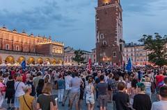 IMGP7318 (TomaszMazon) Tags: protest democracy krakow poland court antigovernment crowd