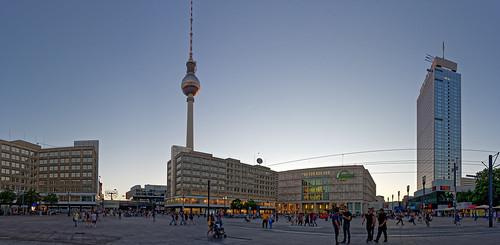 Berlin Alexanderplatz Panorama by karlheinz klingbeil, on Flickr