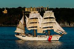 USS Eagle (langdon10) Tags: canada canada150 canon70d quebec ship stlawrenceriver tallship usseagle nautical