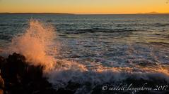 winter sunset 19 (WITHIN the FRAME Photography(5 Million views tha) Tags: seascape rocks splash spray sunset light travels westcoast southafrica fuji fujinon fujilove