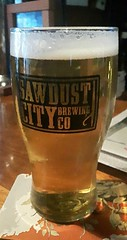 mmmm....beer (jmaxtours) Tags: mmmmbeer beer ale aplacetostandontariopilsner sawdustcitybrewingco gravenhurst gravenhurstontario pilsner sawdustcity