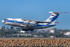 RA-76511 Volga-Dnepr Ilyushin Il-76 34L SYD/YSSY 25/7/2017 (TonyJ86) Tags: ra76511 volgadnepr ilyushin il76 il76td90vd quadjet cargo freighter freight aviation aircraft airliner airplane aeroplane plane jet jetliner jetaircraft jetplane takeoff departure international flight fly airport syd yssy sydneyairport sydneykingsfordsmith mascot sydney nsw newsouthwales australia nikon d750 nikond750 sigma 150600mm sigma150600mm travel avporn aviationporn avgeek