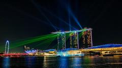 Dazzling (elenaleong) Tags: laserlightsshow spectralightsshow marinabay nightscape elenaleong singaporebynight dazzlingnightlights