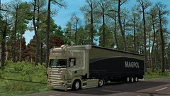 eut2_hq_597a35d3 ([johannes]) Tags: ets2 euro truck simulator 2 express rjl tuning trailer topline trans transport trucks transit style super intercooler michelin light old pl pmi photo scania skin stiholt deck lkw lastkraftwagen look low vabis v8