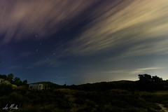 Noche estrellada (lumior) Tags: loriguilla comunidadvalenciana españa es noche nocturna estrellas nubes paisaje naturaleza