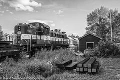 #22 At The Track Shed (lxdesign) Tags: ydhr train locomotive track railway railroad uxbridge ontario canada nikon d800