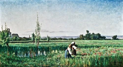 Campina Romana ( 1878 ))- Artur Loureiro (1853 - 1932)