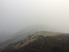 The hairpin in the fog. (mr0grog) Tags: twinpeaks iphone sanfrancisco california unitedstates us