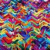 Scrap yarn crochet detail (crochetbug13) Tags: crochet crocheted crocheting crochetrippleafghan crochetrippleblanket crochetripplethrow scrapghan yarnscrapcrochet crochetblanket texturedcrochetblanket usewhatyouhave texturedcrochetthrow texturedcrochetafghan crochetthrow crochetafghan