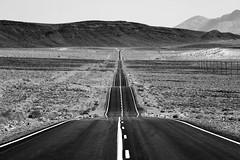 hwy. 136 (eb78) Tags: bw blackandwhite monochrome greyscale grayscale ca california easternsierra landscape keeler highway explore