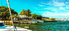 The fuel dock. (Aglez the city guy ☺) Tags: 2016 afternoon blue bay biscaynebay boat coconutgrovemarina coconutgrovefl miamifl seaports miami florida unitedstates yacht sailboat seashore walking walkingaround waterways