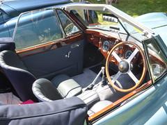 Jaguar XK140 DHC (1955) (andreboeni) Tags: classic car automobile cars automobiles voitures autos automobili classique voiture rétro retro auto oldtimer klassik classica classico jaguar xk140 sports roadster drophead coupe dhc coupé dashboard fascia interior cockpit