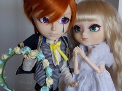 The Joker and The Fairy (1/2) (♥gik@h) Tags: joker serena kuroshitsuji doll taeyang pullip kain tiphona black butler book circus fashion