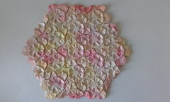 Petals tesselation - Catherine O'Mary - back (Monika Hankova) Tags: origami tessellation catherine omary paper