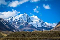 Amazing mountains beside Pastoruri Glacier.