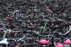 parkplatz der 10.000 (erix!) Tags: bicycles fahrräder bicyclettes many much viele nombreuses nombreux leezen velos